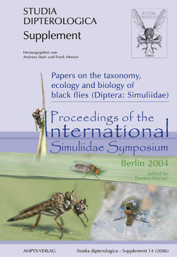 Papers of the taxonomy, ecology and biology of black fliesx